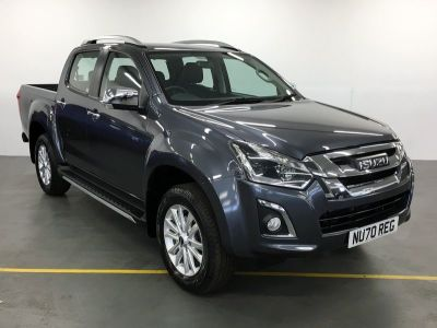 Isuzu D-max 1.9 Utah Double Cab 4x4 Pick Up Diesel Grey at Trelawny Isuzu Penzance Penzance